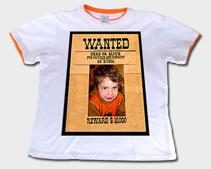 Camisetas Originales Wanted